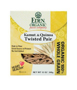 Eden Organic 100% Whole Grain Kamut & Quinoa Twisted Pair