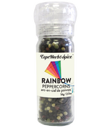 Cape Herb & Spice Table Top Grinder Rainbow Peppercorns