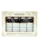 Scentuals Essential Travel Kit Coconut