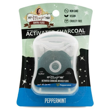 My Magic Mud Activated Charcoal Floss Peppermint