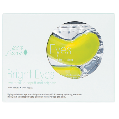 100% Pure Bright Eyes Mask 5 Pack