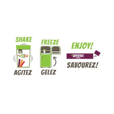 DeeBee\'s Organic Super Fruit Freezies