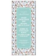 Barre au chocolat blanc Matcha, riz soufflé et noix de coco de la Galerie Au Chocolat