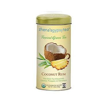 Zhena\'s Gypsy Tea Coconut Rum Tropical Green Tea