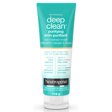 Neutrogena Deep Clean Purifying Clay Cleanser Or Mask