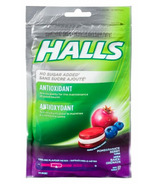 Halls Antioxidant No Sugar Added Supplement Drops Pomegranate Berry