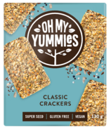 Oh My Yummies Superfood Crackers Classic
