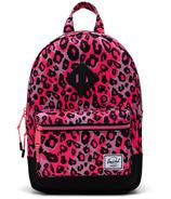 Herschel Supply Heritage Kids Cheetah Camo Rose Fluo/Noir