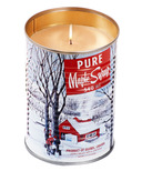 Seracon Maple Tin Can Candle with a Cotton Wick