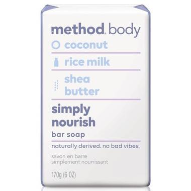 Method Bar Soap Simply Nourish