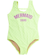 Shade Critters Tank Swimsuit Mermaid Squad Citron