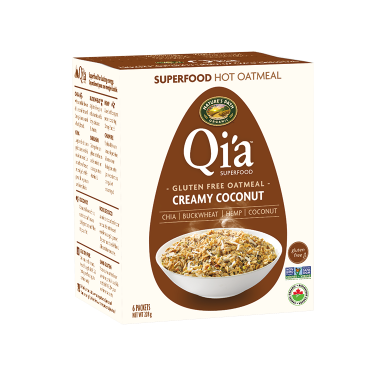 Nature\'s Path Qi\'a Pure Oats Oatmeal Creamy Coconut