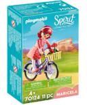Playmobil Spirit Maricela with Bicycle