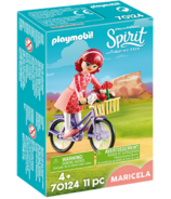 Playmobil Spirit Maricela with Bicycle