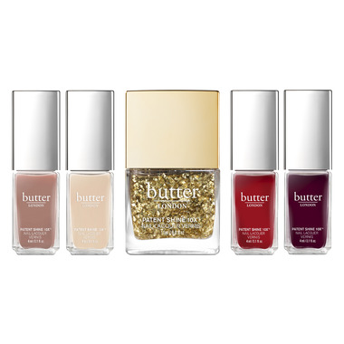 butter LONDON The Gold Standard Nail Laquer Set