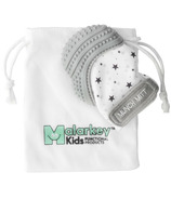Malarkey Kids Munch Mitt Teething Mitten Grey Stars