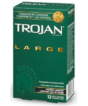 Trojan Large Lubricated Condoms