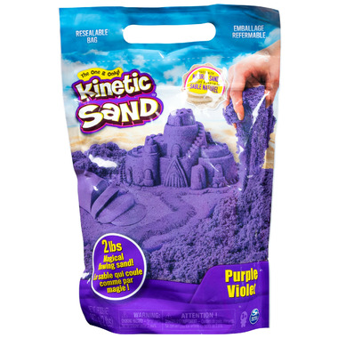 The One & Only Kinetic Sand The Original Moldable Sensory Play Sand Purple