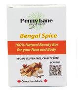 Penny Lane Organics 100% Natural Beauty Bar Bengal Spice