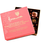 Holdsworth Strawberry Marc De Champage Truffles with Popping Candy