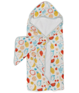 Loulou Lollipop Hooded Towel Set Cutie Fruits