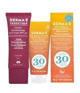 Derma E Everyday Face SPF 30 Tan Bundle