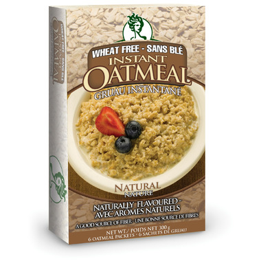 GlutenFreeda Natural Instant Oatmeal