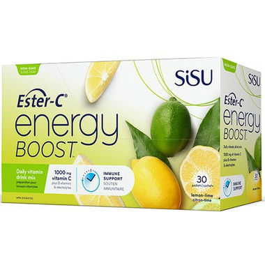 SISU Ester-C Energy Boost Lemon Lime