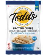 Todd's Better Snacks Protein Crisps Salt & Vinegar