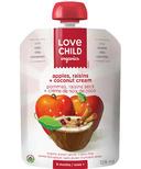 Love Child Organics Pouch with Apples & Raisins + Coconut Cream