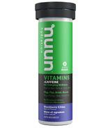 Nuun Hydration Vitamins + Caffeine Blackbery Citrus