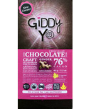 Giddy Yoyo Organic Chocolate Bar Ginger