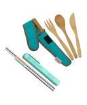 On-the-go Straw & Cutlery Bundle