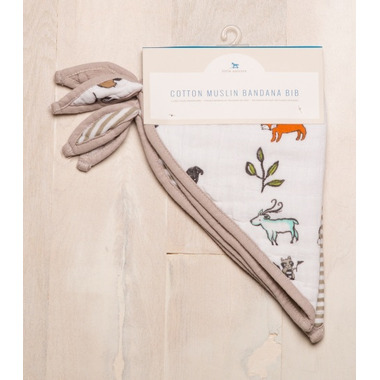 Little Unicorn Cotton Bandana Bibs Forest Friends