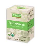 Rootalive Organic Tulsi Moringa Tea