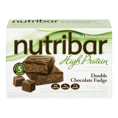 Nutribar High Protein Double Chocolate Fudge Bars