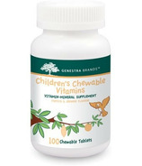 Genestra Children's Chewable Vitamins Papaya & Orange Flavour
