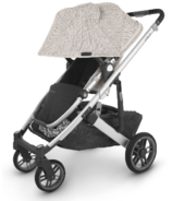 UPPAbaby CRUZ V2 Stroller Sierra Dune Knit Silver Saddle Leather