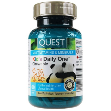 Quest Kid\'s Daily One Chewable Multivitamins & Minerals