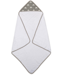 Living Textiles Hooded Towel Grey Clouds