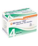 BD Nano PRO Ultra-Fine Pen Neeldes 4mm 32G