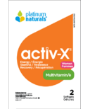 Platinum Naturals Multivitamin Activ-X for Active Women Sample