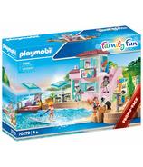 Playmobil Family Fun Waterfront Ice Cream Shop