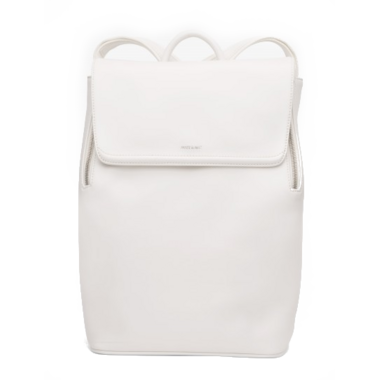 Matt & Nat Fabi Mini Backpack White