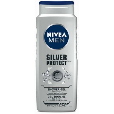 Nivea for Men Silver Protect Shower Gel