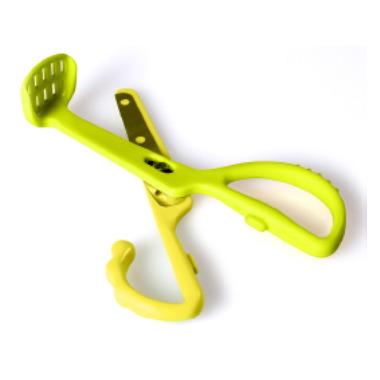 Kidsme Food Scissors Lime