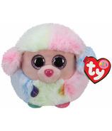 Ty Beanie Babies Rainbow The Poodle