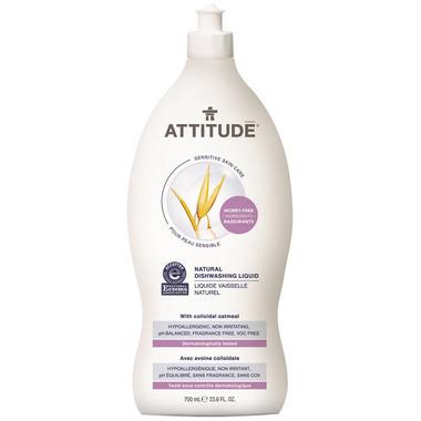 ATTITUDE Natural Dishwashing Liquid