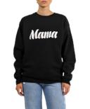 BRUNETTE The Label MAMA Core Crew Black