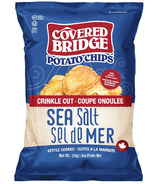 Covered Bridge Sea Salt Crinkle Cut Chips